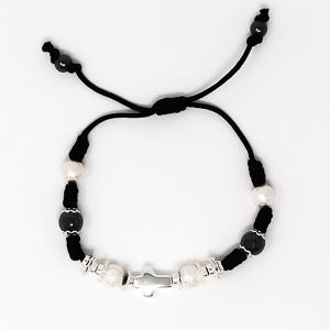 Cross Rope Bracelet.