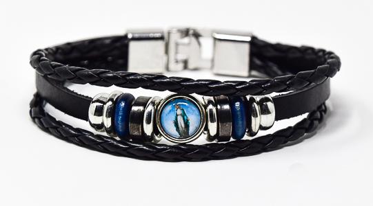 Leather Bracelet -Miraculous.