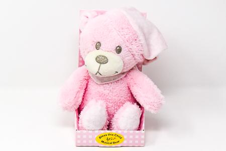 Musical Baby Plush Bear