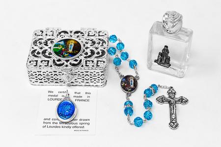 Swarovski Rosary Gift Set.