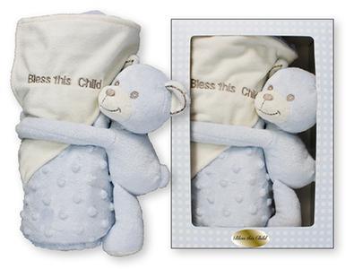 Baby Plush Lamb with Blanket