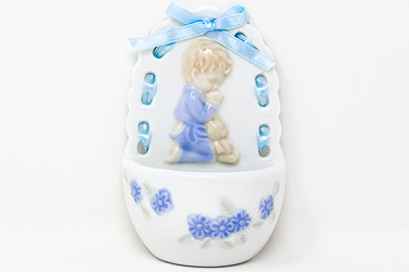 Blue Baby Holy Water Font .