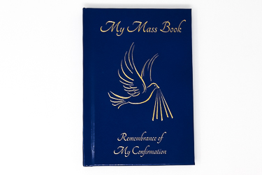 Blue Confirmation Mass Book.