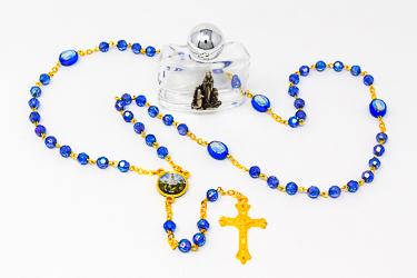 Fatima Rosary Beads & Holy Water.