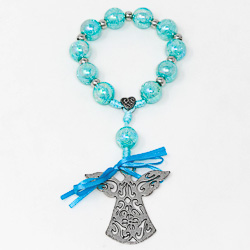 Hand Held Guardian Angel Rosary.