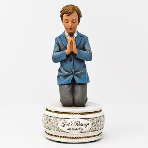 Communion Rosary Holder Statue