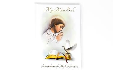 Boy Confirmation Prayer Book.
