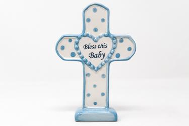 Boy's Porcelain Cross.