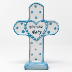 Boy's Porcelain Cross.