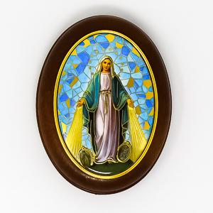 Miraculous Sliding Rosary Box.