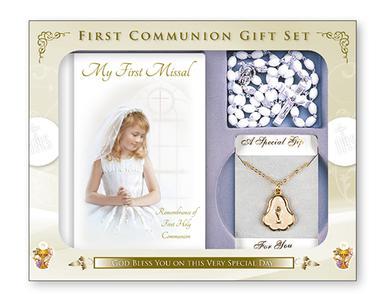 Girls First Holy Communion Gift Set