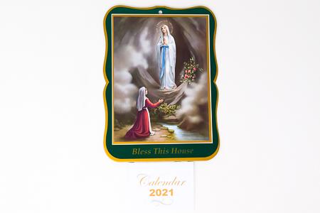 Lourdes - Calendar 2020.