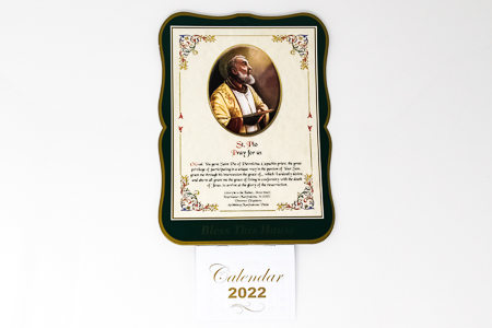 St. Pio - Calendar 2022.