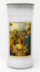 Holy Family Candle