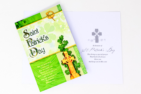 Saint Patrick's Day Card.