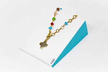 Fidei Gold Plated Colour Bracelet.