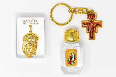 Lourdes Catholic Gift Set.
