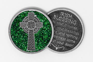 Celtic Cross Pocket Token.