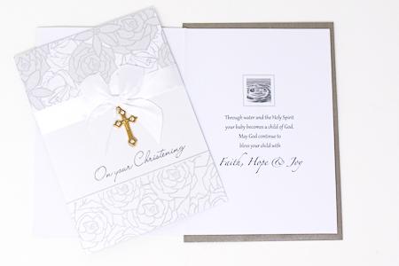 Christening Card.