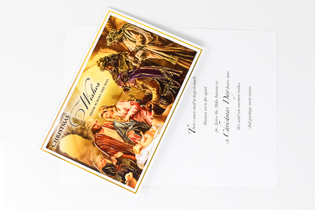 Christmas Card From Across The Seas.