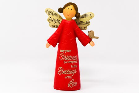 Christmas Message Angel.
