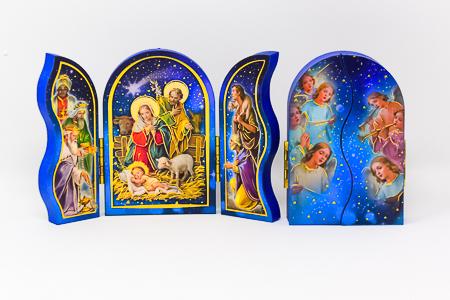 Nativity Triptych.