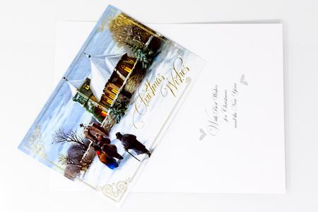 Christmas Church Card.