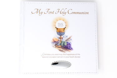 First Holy Communion Photo Album.