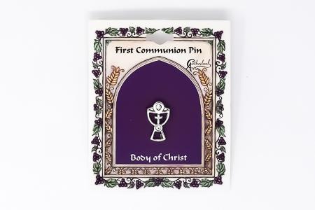 Chalice Cross Pin.