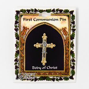 Cross Pin and Chalice.