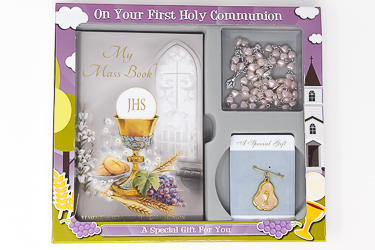 Holy Communion Gift Set & Chalice Rosary