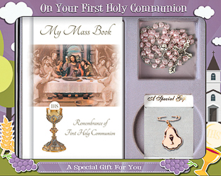 IHS Holy Communion Gift Set