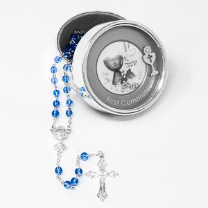 Communion Silver Plated Photo Box.