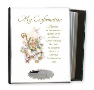 Confirmation Metal Photo Album.