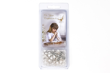 Girl's Confirmation Rosary.