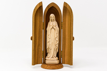 Hand Crafted Wood Carving Statue.