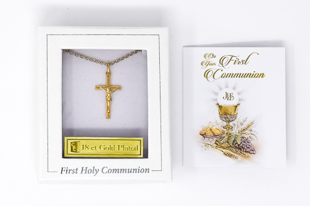 Crucifix Communion Necklace.