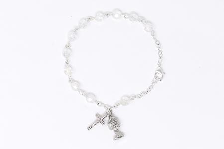 Chalice Decade Rosary Bracelet.