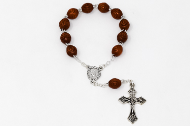 Wooden Handheld Rosary.