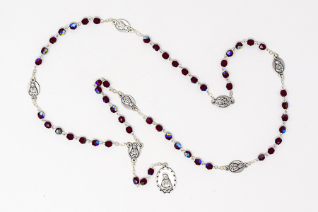 Red Chaplet of The Seven Sorrows of Mary.