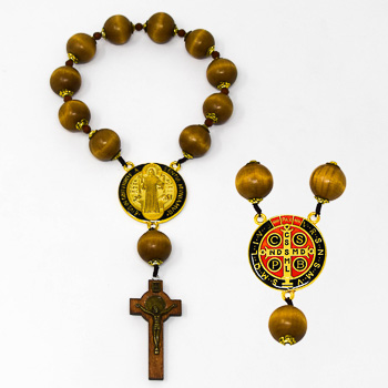 Door Decade Rosary - St Benedict.