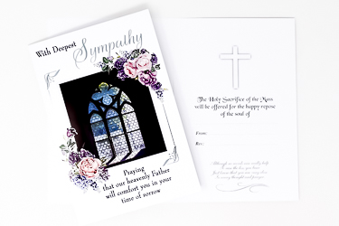 With Deepest Sympathy Card.