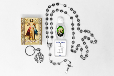 Men's Saint Christopher Gift Set.