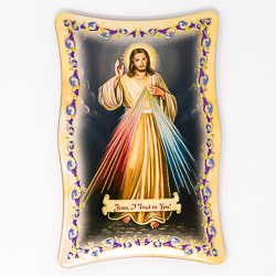 Divine Mercy Wall Plaque.