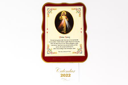 Divine Mercy Calendar 2022.