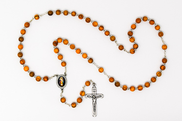 Divine Mercy Olive Rosary.