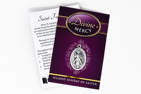 Divine Mercy Oxidized Medal.
