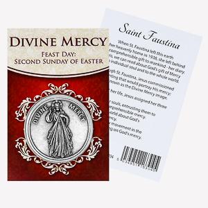 Divine Mercy Pocket Token.