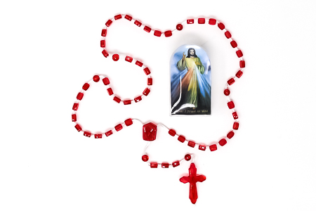 Divine Mercy Red Rosary.