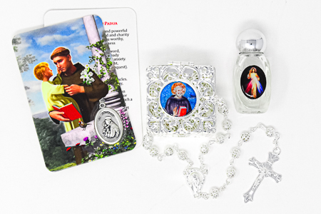 St Pio Gift Set.